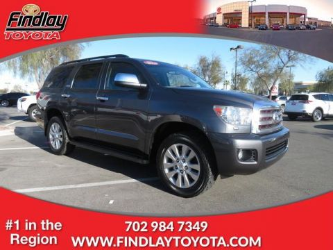 Certified Pre-Owned 2015 Toyota Sequoia PLT 4WD
