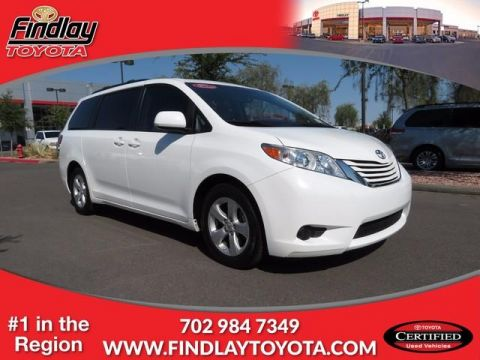 Certified Pre-Owned 2015 Toyota Sienna LE FWD Mini-van, Passenger