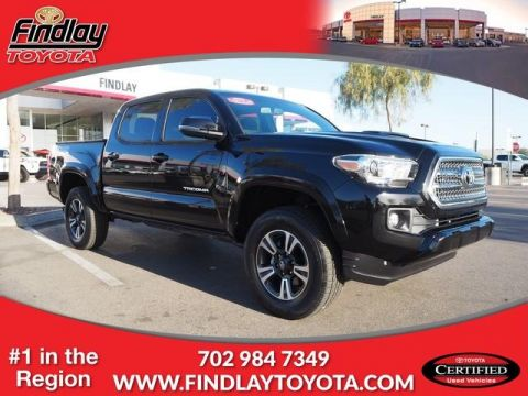Certified Pre-Owned 2017 Toyota Tacoma TRD Sport Double Cab 5' Bed V6 4x4 4WD
