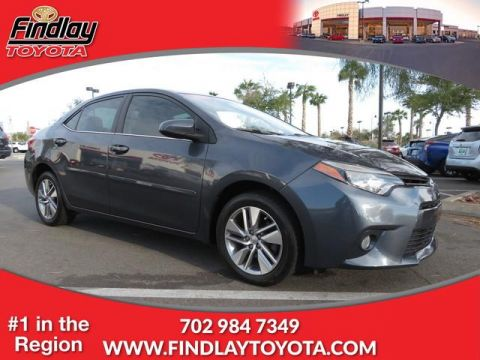Certified Pre-Owned 2015 Toyota Corolla ECO FWD 4dr Car