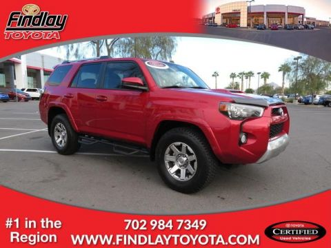 Certified Pre-Owned 2015 Toyota 4Runner CUS 4WD