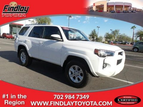 Certified Pre-Owned 2015 Toyota 4Runner SR5 RWD Sport Utility