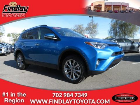 Certified Pre-Owned 2016 Toyota RAV4 LTD AWD