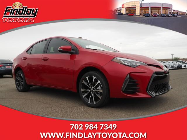 New 2019 Toyota Corolla Se Cvt 4dr Car In Henderson 191112