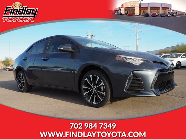 New 2019 Toyota Corolla Se Cvt 4dr Car In Henderson 191060
