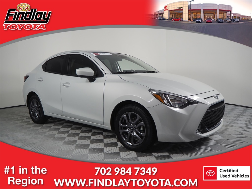 Certified Pre-Owned 2019 Toyota Yaris Sedan STD