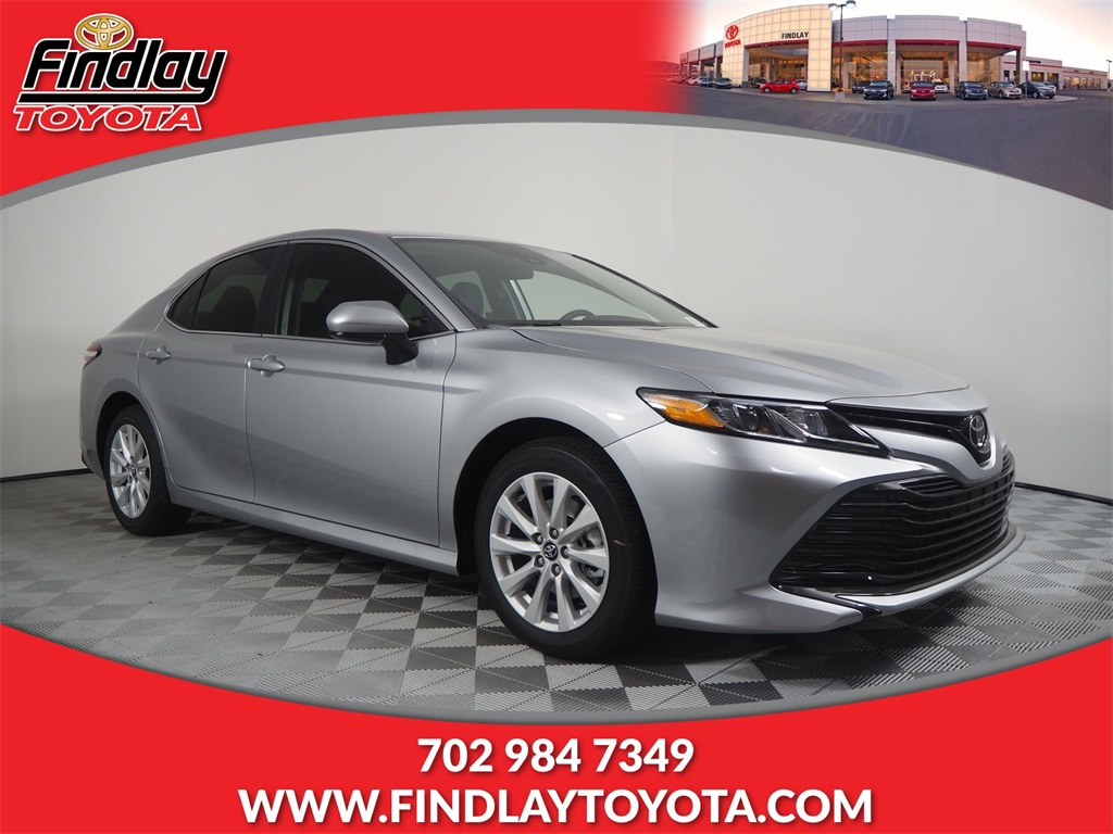 Findlay Toyota Henderson >> New 2020 Toyota Camry Fwd 4d Sedan