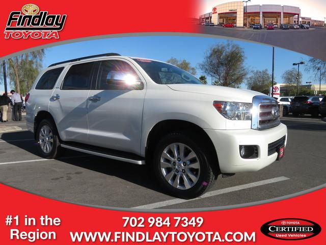 Certified Pre-Owned 2016 Toyota Sequoia PLT