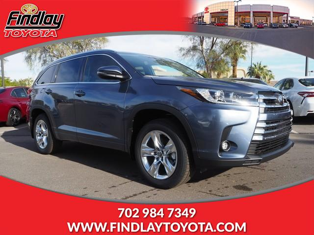 New 2019 Toyota Highlander Limited V6 Awd Sport Utility In Henderson