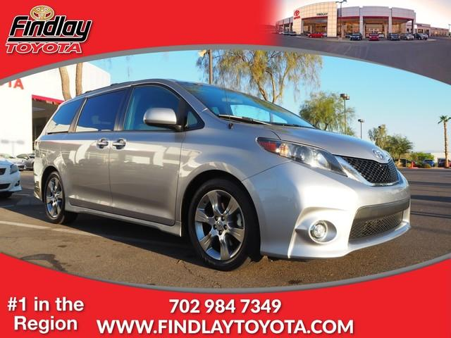 Pre Owned 2011 Toyota Sienna 5dr 8 Pass Van V6 SE FWD