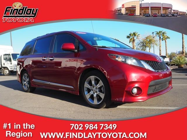 Pre-Owned 2013 Toyota Sienna 5dr 8-Pass Van V6 SE FWD