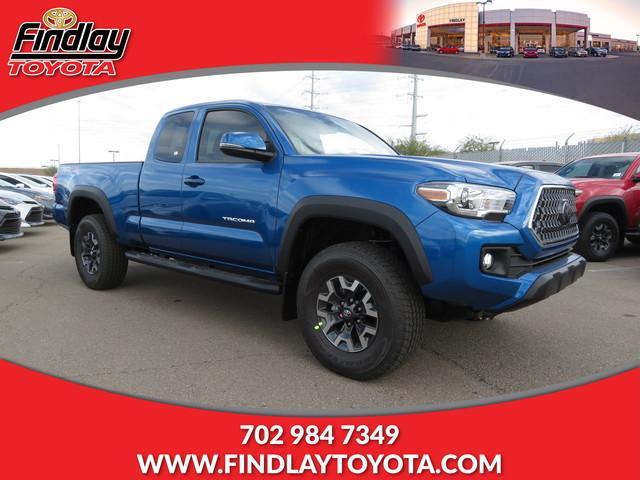 Findlay Toyota Henderson >> New 2018 Toyota Tacoma TRD Off Road Access Cab 6' Bed V6 4 Extended Cab Pickup in Henderson ...