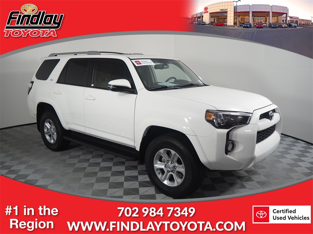 Findlay Toyota Henderson >> Certified Pre Owned 2017 Toyota 4runner Sp 4wd