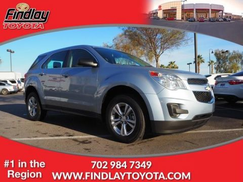 Pre-Owned 2015 Chevrolet Equinox FWD 4dr LS