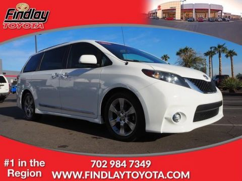 Certified Pre-Owned 2014 Toyota Sienna SE